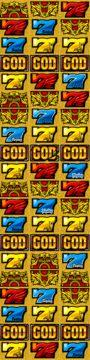 ミリオンゴッド-神々の凱旋- リール配列